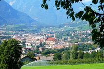 Brixen Stadtansicht