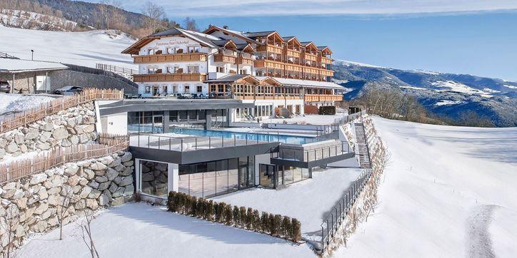 Panoramahotel Huberhof im Winter