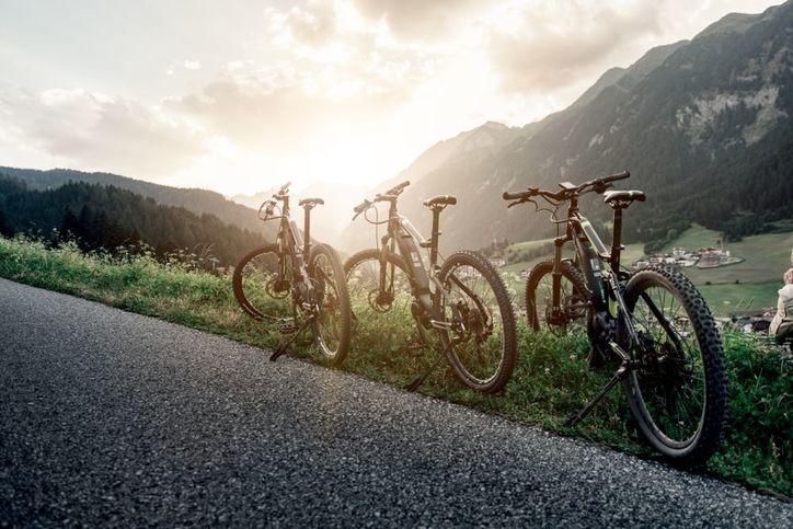 Mountainbike in Ratschings