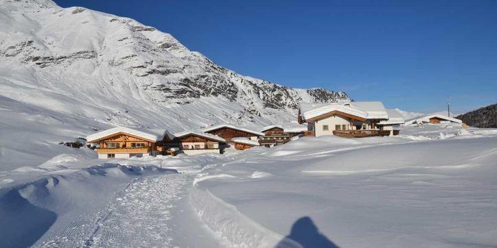 Winter im Passeiertal