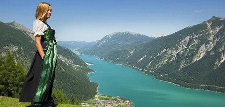 Panorama vom Achensee