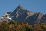 Acherkogel, der erste Dreitausender am Eingang des Ötztals