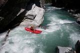 Action pur im Kayak