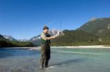 Angler in der Lech