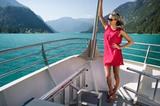 auf dem Boot am Achensee