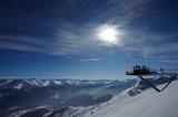Aussichtsplattform Z1 im Winter