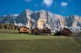 Bauernhäuser in Val Badia
