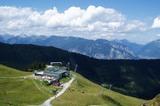 Bergstation im Sommer
