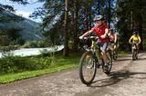Biker im Lechtal