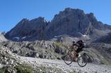 Biker in den Lienzer Dolomiten
