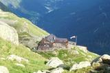 Blick auf die Magdeburger Hütte