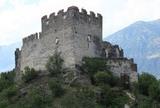 Burgruine Obermontani in Morter bei Latsch