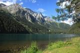 Der Antholzer See mit Talende