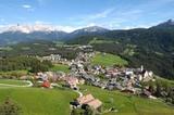 Deutschnofen (1350 m) mit Latemar