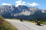 Die große Dolomitenfahrt mit dem Motorrad
