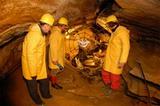 Die Spannagelhöhle beim Hintertuxer Gletscher in Tirol