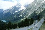 Die-Straße zum Staller Sattel (Antholzertal)