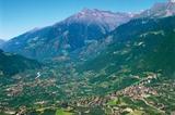 Dorf Tirol mit Schloss Tirol