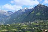 Dorf Tirol Panorama