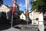 Dorfbrunnen in Glurns im Vinschgau