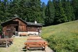 Eine urige Hütte, die Ramitzler Schwaige