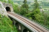 Eisenbahnviadukt zwischen Marling und Töll