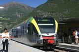 Endstation Vinschger Bahn