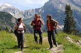 Familienwanderung im Lechtal