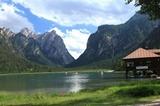 Fischerhütte am Toblacher See