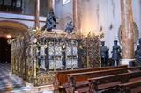 Grabdenkmal von Kaiser Maximilian in der Hofkirche