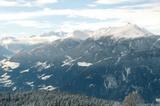 Hafling Winterpanorama