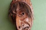 Holzmasken aus dem Ahrntal