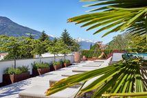 Panoramaterrasse mit Kuschelliegen