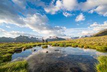 Berge, Almen, Wasserfälle