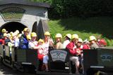 Einfahrt Schaubergwerk Kupferplatte