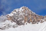 Scharnitzspitze von Rauthhütte aus