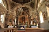 Innenansicht Pfarrkirche von St. Vigil in Enneberg
