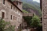 Innenhof von Schloss Runkelstein