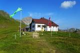 Kaiserjochhaus in den Lechtaler Alpen
