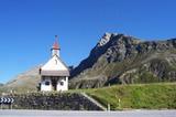 Kapelle am Jaufenpass mit Jaufenspitze