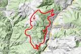 Karte Mountainbiketour von Villanders auf das Rittner Horn