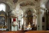 Kirche Zell am Ziller Innenansicht