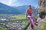 Klettern im Tiroler Oberland