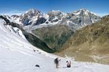 Königspitze (3851m) und Ortler (3905m)