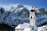 Kolfuschg / Val-Badia mit Sellastock