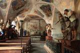 Kreuzgang in der Egerer Kapelle