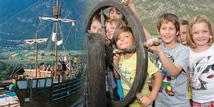 Lärchenwald Piratenschiff