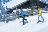 Langläufer in Nordtirol