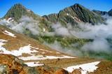 links: Innere Wetterspitze - rechts: Äußere Wetterspitze