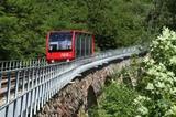 Mendelbahn mit Viadukt